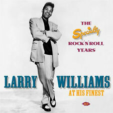 "LARRY WILLIAMS  ""THE SPECIALITY ROCK'N'ROLL YEAR""  2 CD's  47 TRACKS"