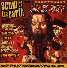 Sleaze Freak - Scum Of The Earth (2007, CD NIEUW)2 DISC SET