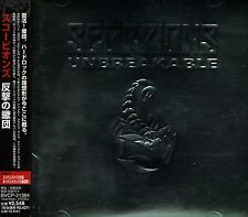 SCORPIONS Unbreakable +2 FIRST PRESS JAPAN CD OBI BVCP-21384 Metallic cover!