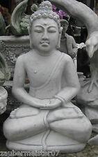 Buddha XL 87 cm groß Steinfigur Feng Shui Statue Japanischer Garten Figur China