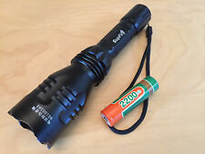 Supfire Cree Q5 LED Flashlight Y3 with a Range of 300-500M