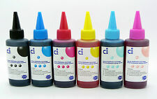 CISS Compatible Refill Ink Sets Fits Epson Stylus Photo PX730WD PX830FWD NON-OEM