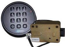 AMSEC ESL10XL DIGITAL SAFE LOCK IN A  BLACK FINISH REPLACES S&G 6120 AND LAGARD