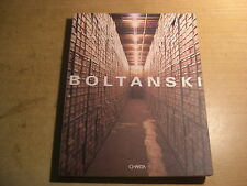 CHRISTIAN BOLTANSKI SIGNED CATALOGUE BOLOGNA 1997 ARTE  CONCEPTUAL ART
