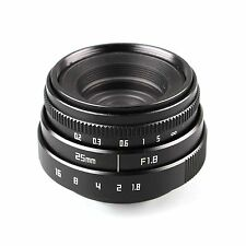 Mini 25mm F1.8 APS-C Television TV Lens CCTV Lens M4/3 for Olympus GX7 GX8 GH4
