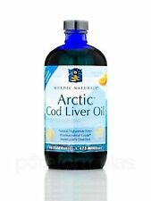 Nordic Naturals Arctic Cod Liver Oil 8 Fluid Ounces Omega-3 Supplement DISCOUNT