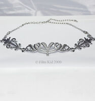 ARWEN EVENSTAR SILVER CROWN LOTR HOBBIT LORD OF THE RINGS ELVEN CIRCLET TIARA