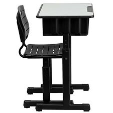 Classroom Desk And Chair Set Student Adjustable Height Kids School Furniture