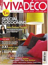VIVADECO. N° 42. nov 2013. POMPE A CHALEUR / COCOONING / TABLE REVEILLON / CHEMI
