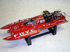 "Bad Ass "" Whiskey River "" THF Drag Boat. Extreme Detail. Retired & Discontinued."