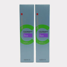 Goldwell Colorance Demi Hair Color tube 2.1 oz 9 Silver *2 set*
