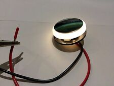 LED Courtesy Lights Recessed Mount, Chrome face   for boat, caravan or motorhome