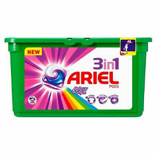 Ariel 3in1 Pods Washing Tablets Colour Style 38 Washes