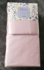 Ex store pair of pink 100% jersey cotton fitted cot sheets BNWT