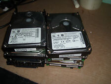 Lot of 5 Server    HD sanitized 73.5 GB   SCSI without caddy