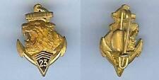 Insigne en réduction - Indochine 23° Régiment infanterie coloniale estampé aigu