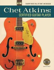 Chet Atkins Certified Guitar Player Learn Country Music Hall of Fame Book