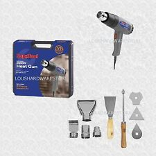2000W Hot air heat gun tool set with a  9 Piece Accessory Set and Case