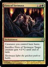 Fires of Yavimaya NM Gold Uncommon Duel Decks Heroes Vs Monsters MTG Magic