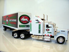 "South Sydney ""Bunnies"" KENWORTH W900 Diecast truck 1:43 Scale Custom Graphics"