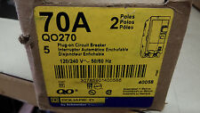 SQUARE D QO270 NEW IN BOX 2P 70A 240V BREAKER SEE PICS #A66
