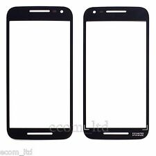 MOTOROLA MOTO G (3rd Gen) BLACK DIGITIZER TOUCH SCREEN DISPLAY GLASS LENS XT1552