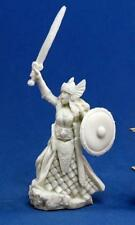 Aina, Female Valkyrie Bones Miniature by Reaper Miniatures RPR 77052