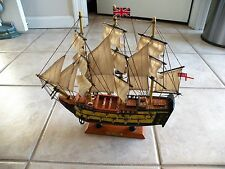 "Great ""HMS Victory"" Wooden Ship Model, Nautical Home Decor"