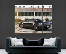 ASTON MARTIN VANQUISH POSTER SUPER CAR FAST UK WALL  ART PICTURE PRINT LARGE