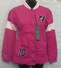 New Balance Womens Varsity Fuchsia Jacket Top Size Small Brand New #2284