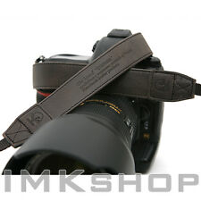 NEW MATIN Vintage-30 BLACK DSLR SLR Camera Neck Shoulder Leather Strap