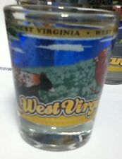 WEST VIRGINIA STATE SHOT GLASS NEW