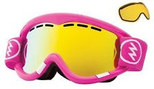 NEW Electric EG1 Punk Pink Gold ski snowboard goggles + extra lens 2014 Msrp$100