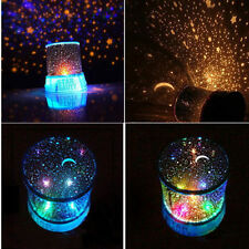 Kids Love For Sleeping Sky Star Night Light Lamp Projector Space Solar System