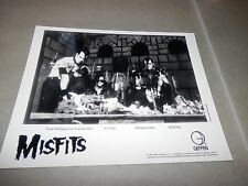 Misfits American Psycho 2 Set Promo Photo 8x10 Record Insert Famous Monsters