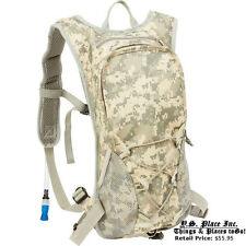 Hiking Hydration Backpack  Camping  Daypack Camelback Water Bladder Bag