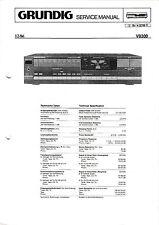 Service Manual-Anleitung für Grundig V 8300