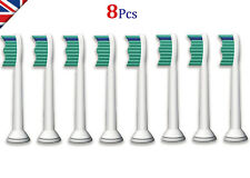 8 x Cepillo dental Sonicare cabezas compatible con Philips HX6013 HX6011 Phillips