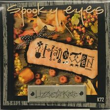 Lizzie Kate Halloween Spooky Eyes Cross Stitch Kit