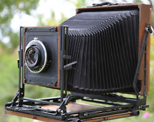 Canham 8X10 Std Field Camera  (4X5 on 8X10 reducer, 4x5 back)