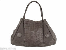 Napoleoni Italian Fashion Croco Purse Handbag Bag Leather