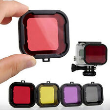 5pcs Diving Filter Gopro HERO 3+ 4 Camera Housing Case Underwater Lens Converter