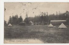 Foxlease, Cowshed Camp Site 1927 Postcard, B115