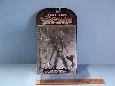 "#02 Spawn The Dark Ages The Spellcaster 7""in Figure Brown Skull Cap Variant HTF"