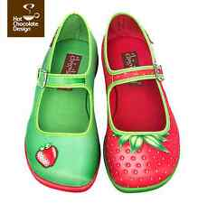 Hot Chocolate Design. Chocolaticas Strawberry. US 6. Women shoes