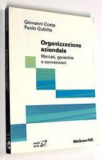Costa-Gubitta ORGANIZZAZIONE AZIENDALE: MERCATI, GERARCHIE E CONVENZIONI 2004