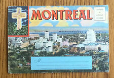 MONTREAL CANADA - POSTALLY UNUSED LETTERCARD FROM 1940s 15 COLOUR VIEWS