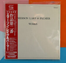 Emerson Lake & Palmer ,   Works Vol. 2 (Papersleeve) (SHM-CD) (Reissue)
