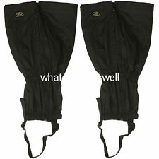 one size WALKING GAITERS Hiking gaitors climbing trekking gators