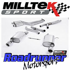 Milltek bmw 335i E92 coupe 2WD exhaust full system inc secondaire decats SSXBM014